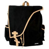 PULCHER Corvus [C-01] - Black - Backpack Wanita